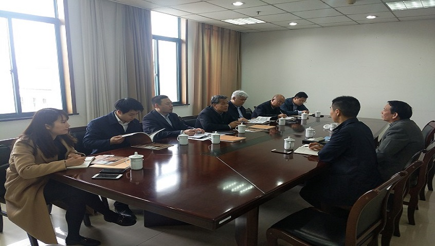 Officials of Shanxi Provincial Government Visit and Inspect Hailiang Stock