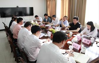 中国有色金属工业协会莅临海亮股份调研指导